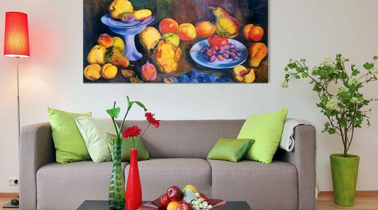 תמונה בד טבע דומם עם פירות