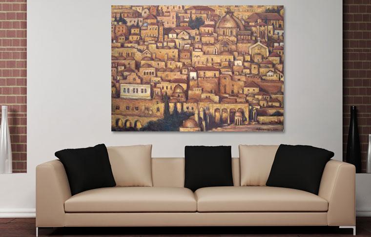 תמונה בד ירושלים