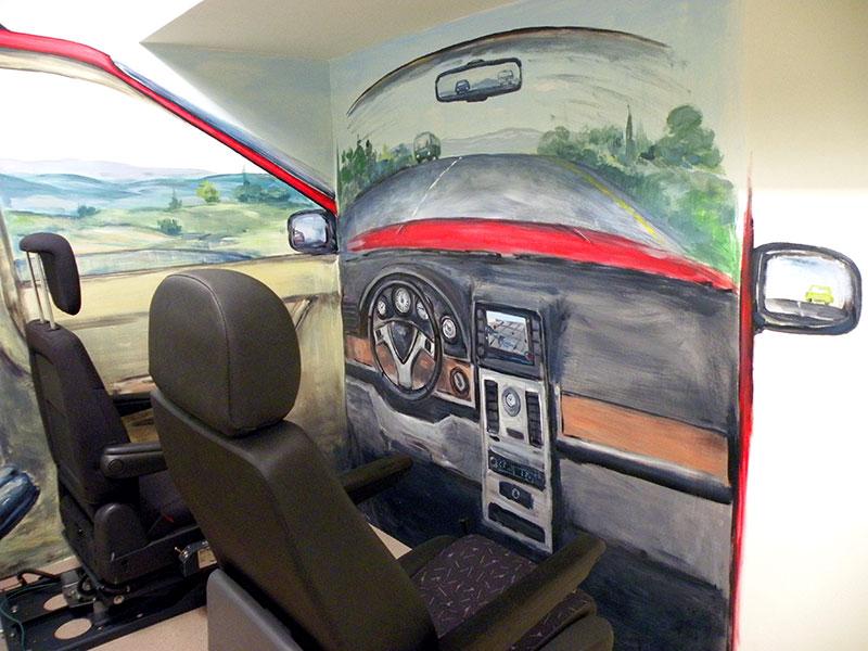ציורי קיר של חלון קידמי