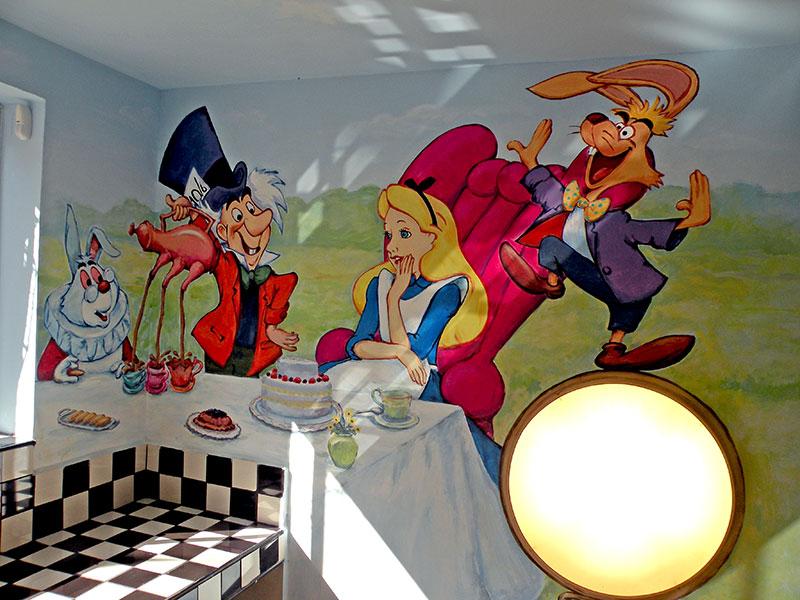 עליסה והקוסם בארץ הפלאות