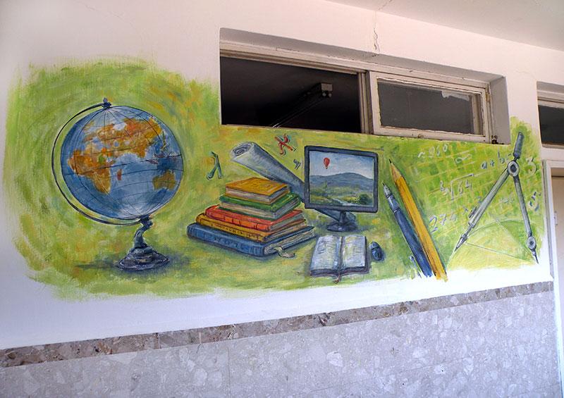ציורי קיר בנושא מתמטיקה