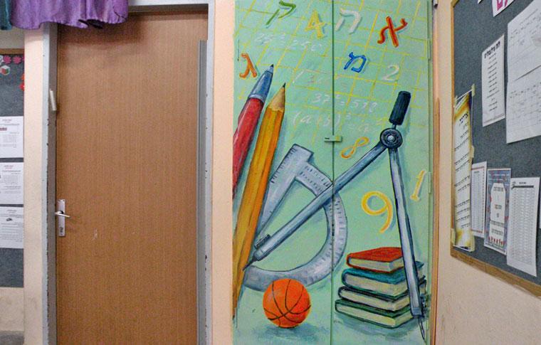 ציורי קיר מחוגה וכלי לימוד