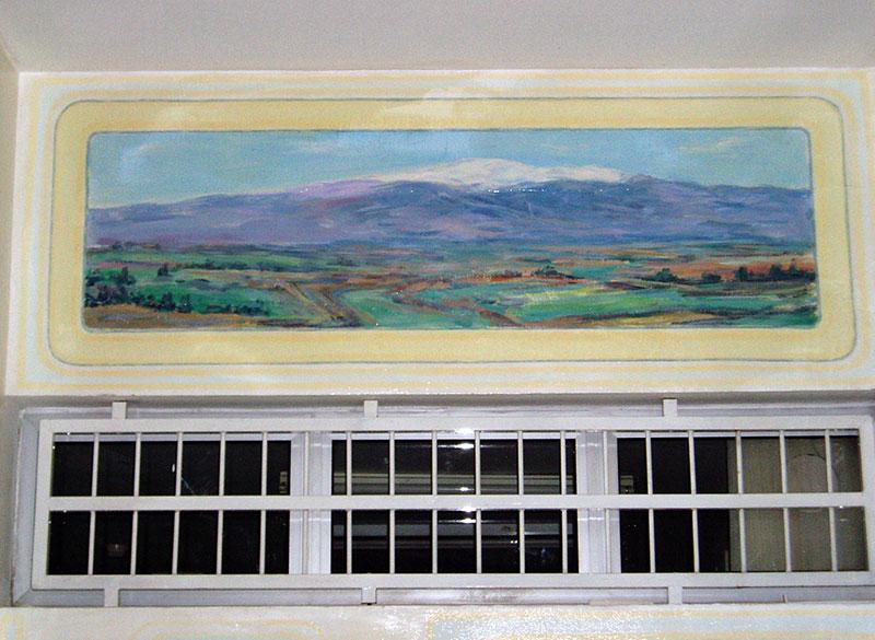 ציורי קיר הר חרמון