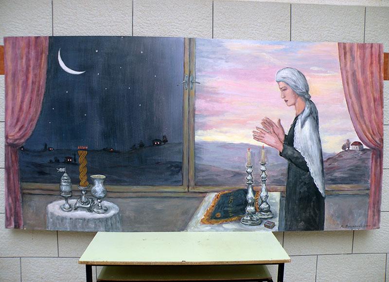 ציורי קיר תפילה