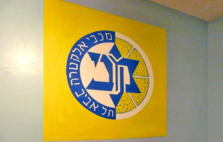 סמל מכבי אלקטרה ציורי קיר לנוער