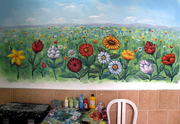לוח צבעים - כלים לציורי קיר