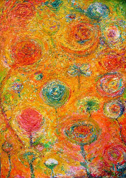 תמונה שמן על בד Flowers