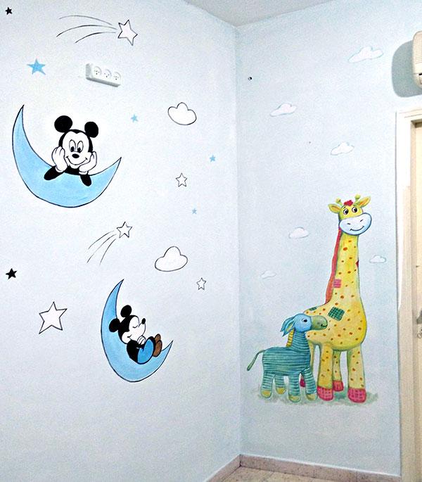 עיצוב חדר תינוק