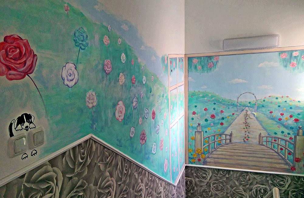ציור קיר לבית