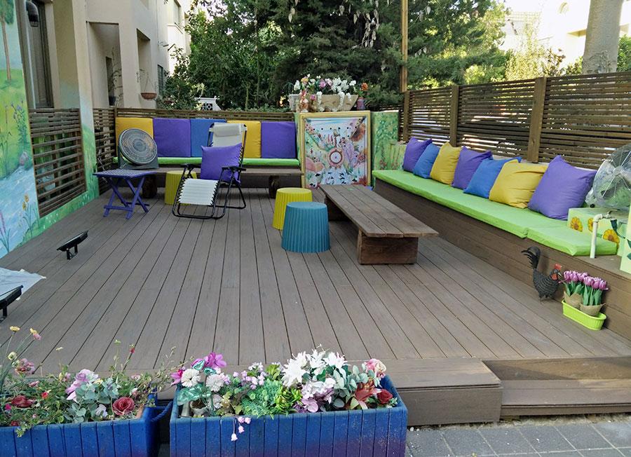 עיצוב של החצר הבית