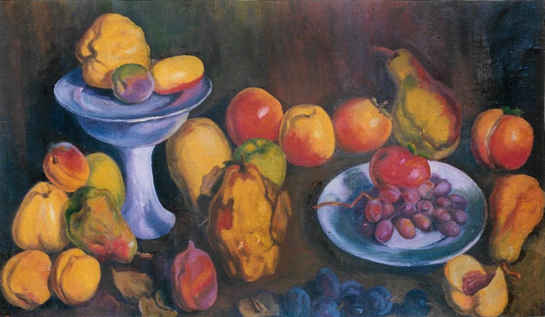 תמונת שמן פירות