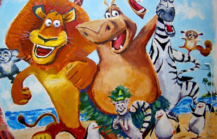 ציורי קיר מדגסקר