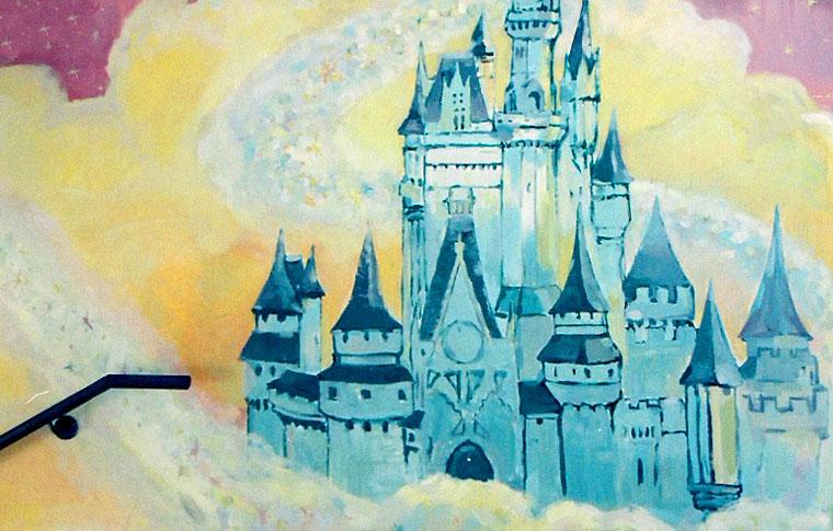 ציורי קיר ארמון קסום