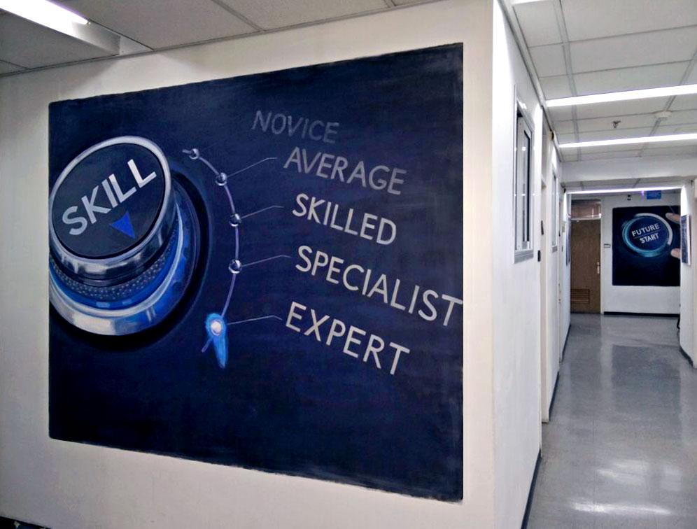 ציורי קיר במשרד